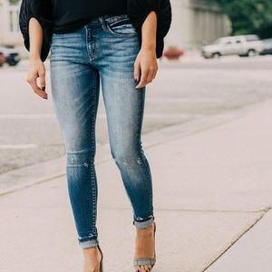 KanCan Mid Rise Skinny Jeans